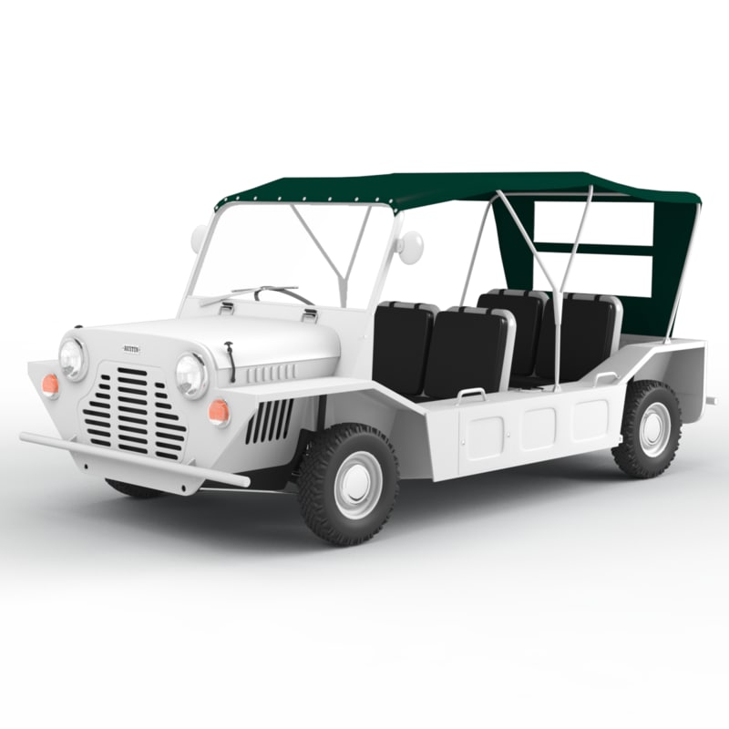 austin mini moke 3d model. Black Bedroom Furniture Sets. Home Design Ideas