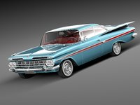 Chevrolet Impala 1959 coupe