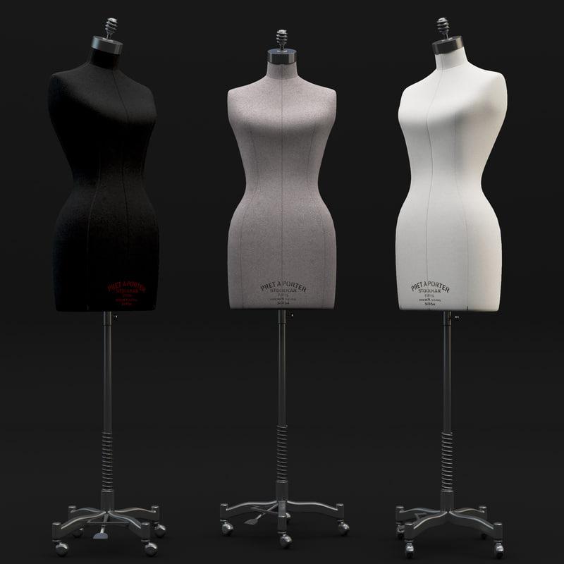 stockman female mannequin max
