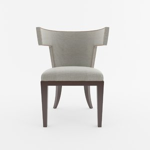 3D model antique dining chair
