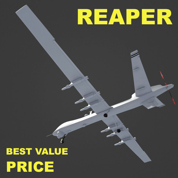 3d model general atomics reaper