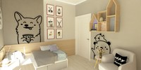 Child Bedroom Scene(Textures included)