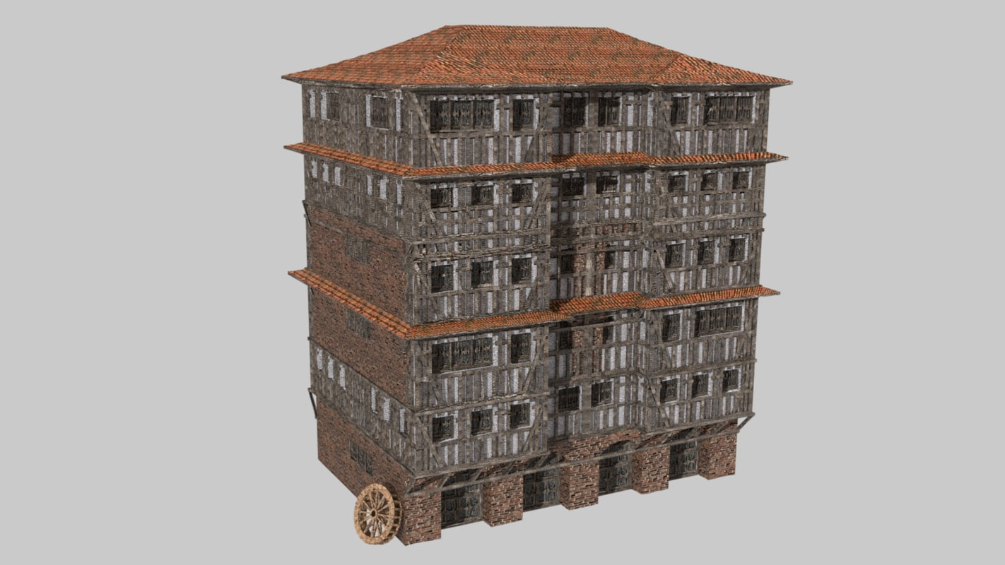 medieval fantasy house games 3D model