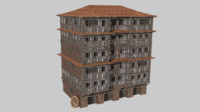 medieval fantasy house games 3D model