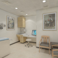 medical patients 3d model
