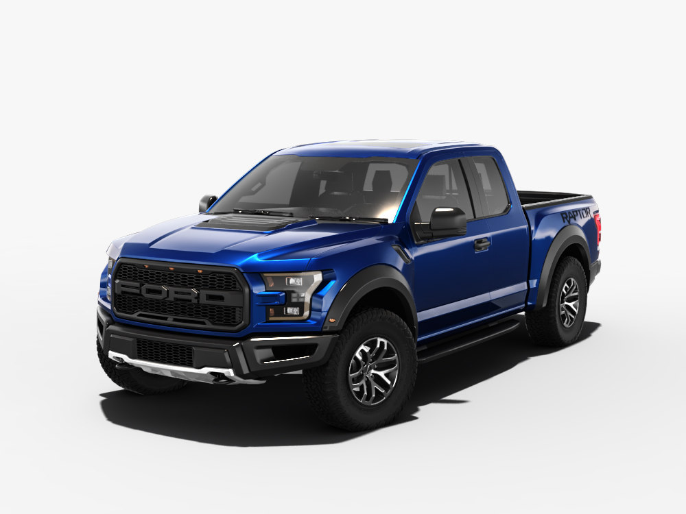 ford f 150 raptor 3d model obj max 3d models for free. Black Bedroom Furniture Sets. Home Design Ideas
