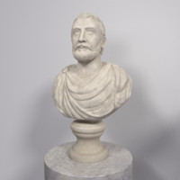 Roman Politician Bust