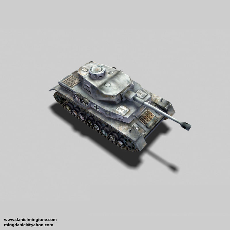 german tank 3ds