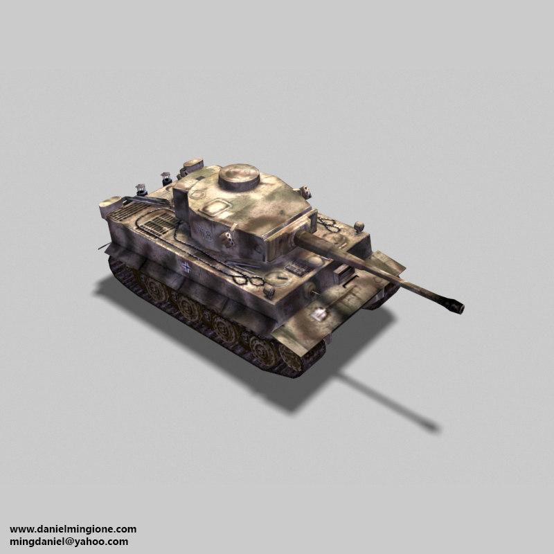 sherman tiger 3d 3ds