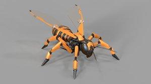 c4d robot wasp