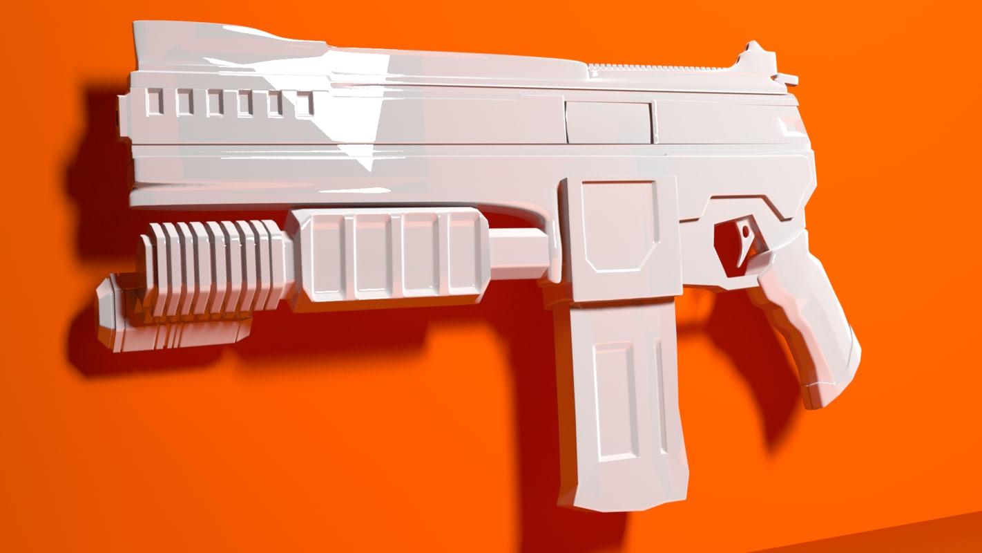 shotgun high 3D model