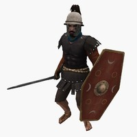 Low-poly Roman Cavalry
