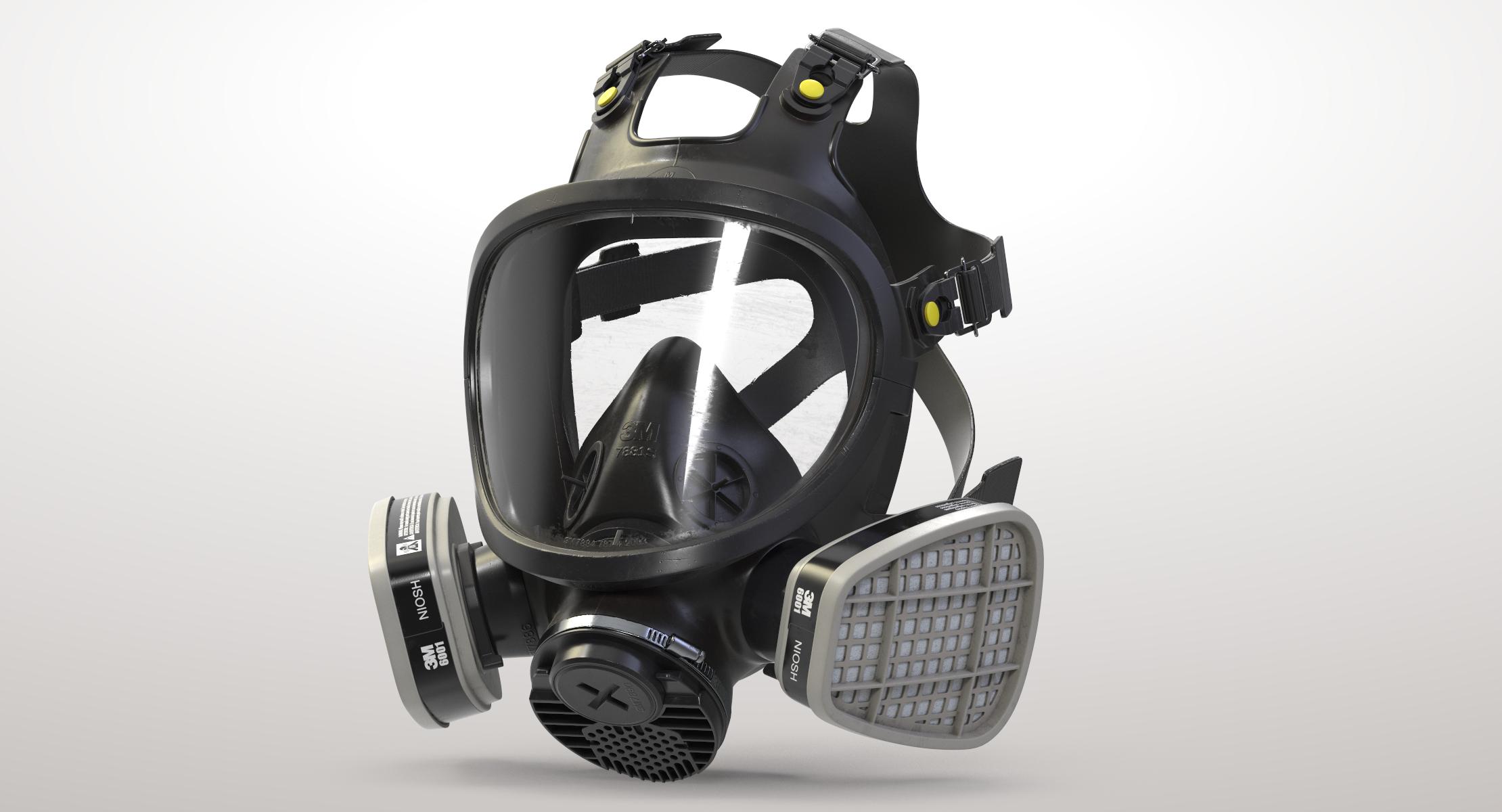 3m biohazard mask