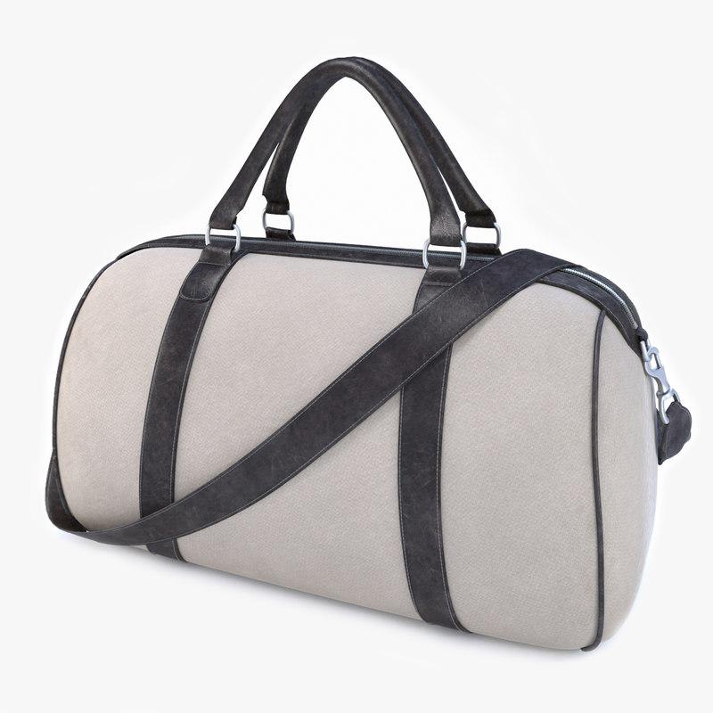 travel bag 3d max