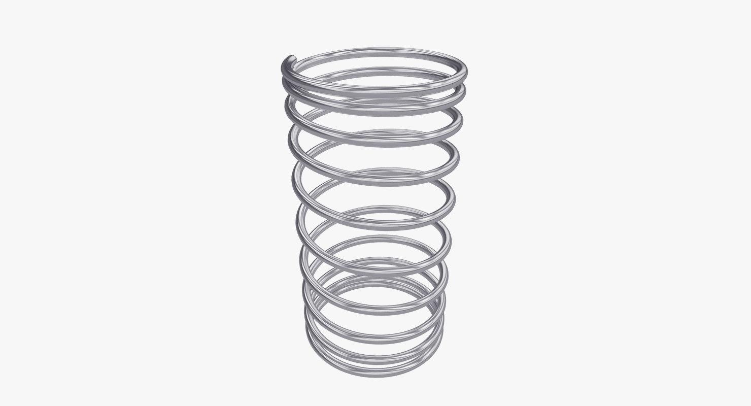 3d metal springs