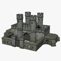 town gate 3d model