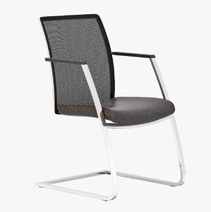 obj realistic mesh chair