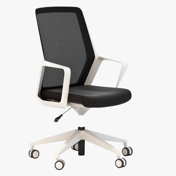 3d realistic flo chair