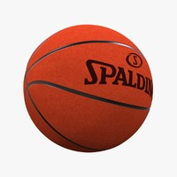 max photorealistic basketball ball