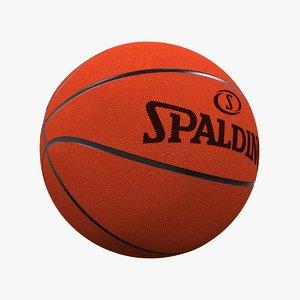max photorealistic basketball ball