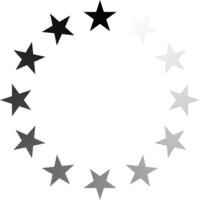Stars fading preloader