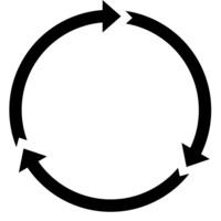 Three arrows preloader