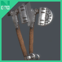 heavy axe set model