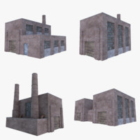 old brick factories 1 3D