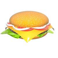 cheeseburger spinning model
