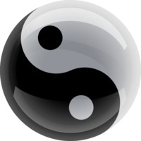 Yin Yang 3D preloader