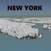complete new york 3d model