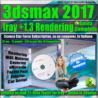 Iray + Upgrade 1.3 in 3ds max 2017 Guida Completa, Locked Subscription, un Computer