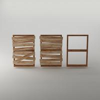 frame planks 3d model