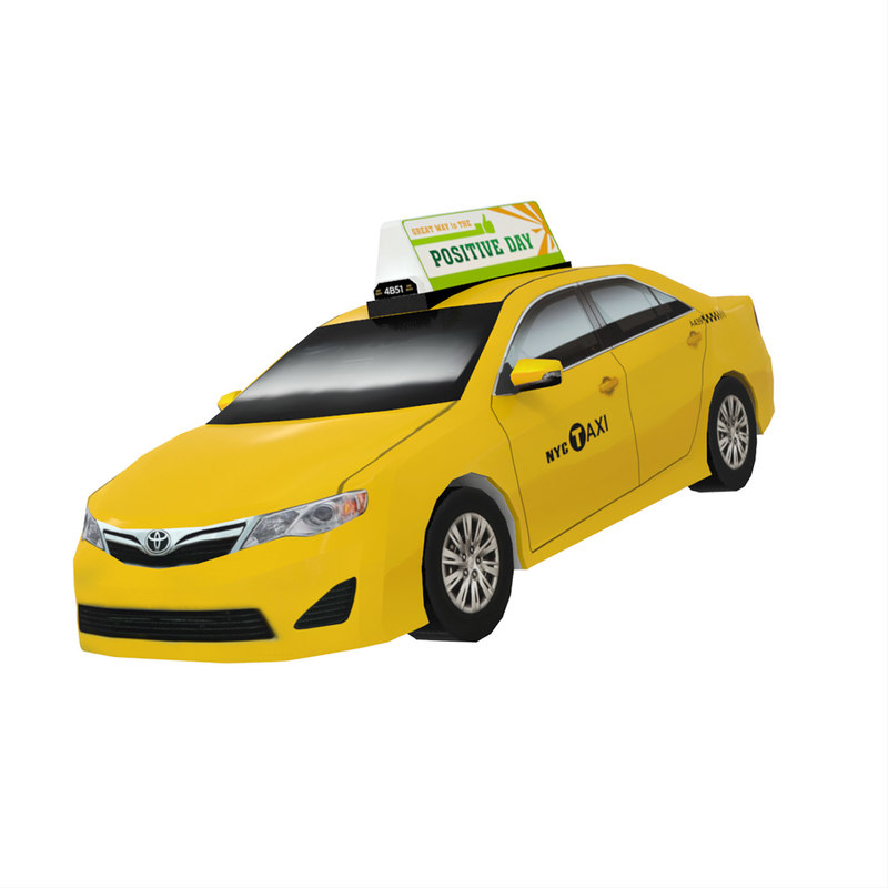 new york taxi toyota 3ds