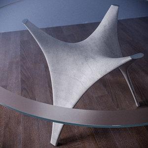3d model arc table