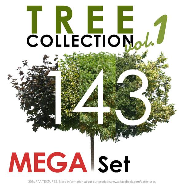 143 Tree Collection vol. 1 - MEGA Set