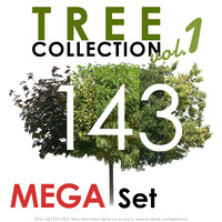 143 Tree Collection vol. 1 - MEGA Set