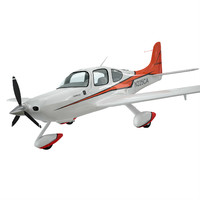 3d sport aircraft private model