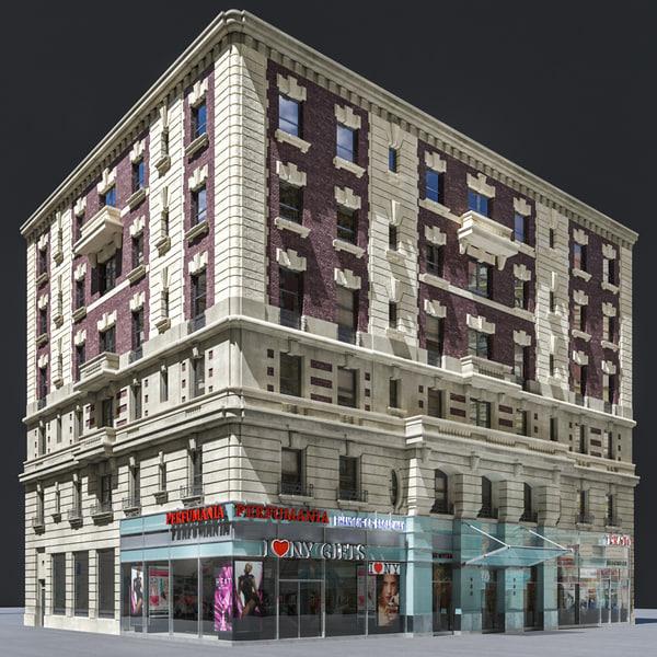 facade old building max