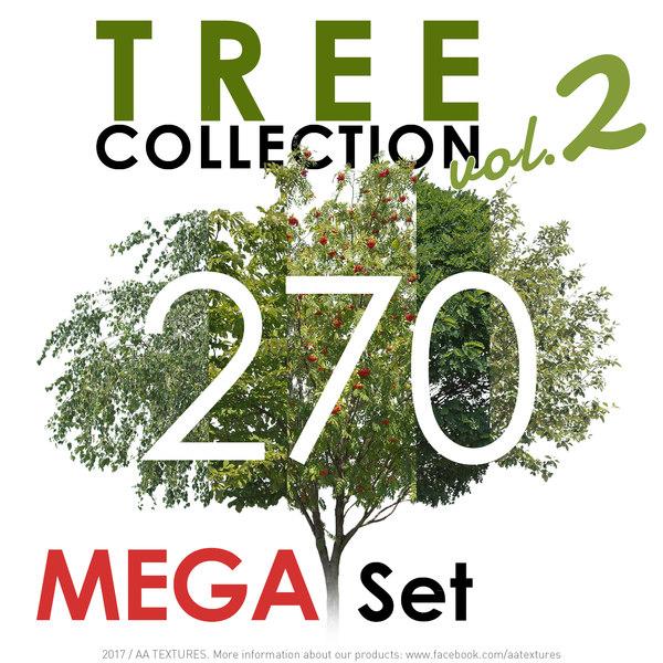 270 Tree Collection vol. 2 - MEGA Set