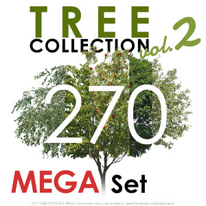 270 Tree Collection vol. 2 - MEGA Set