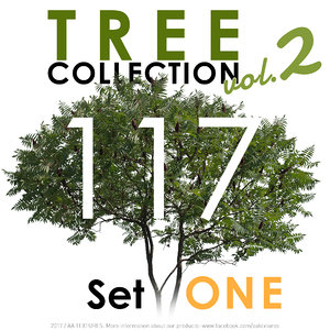 117 Tree Collection vol. 2 - Set ONE