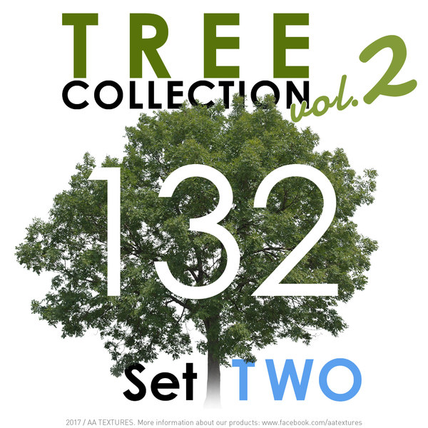 132 Tree Collection vol. 2 - Set TWO