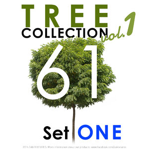 61 Tree Collection - Set ONE