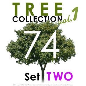 74 Tree Collection - Set TWO