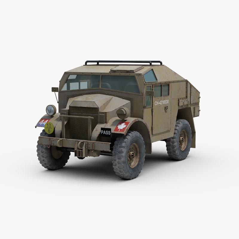 3d 3ds british fgt gun tractor