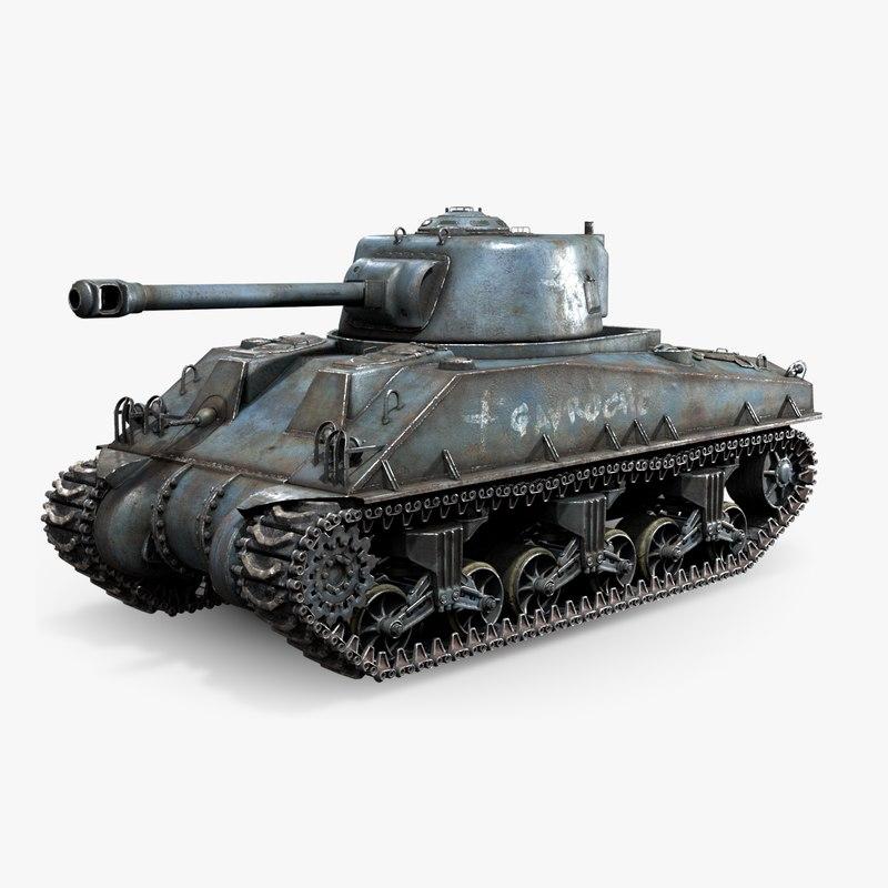 m4a3 sherman tank rig max
