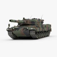 3d leopard 2 tank