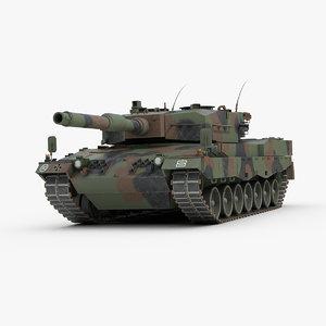 leopard 2 tank 3ds