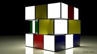 cube light 3d max